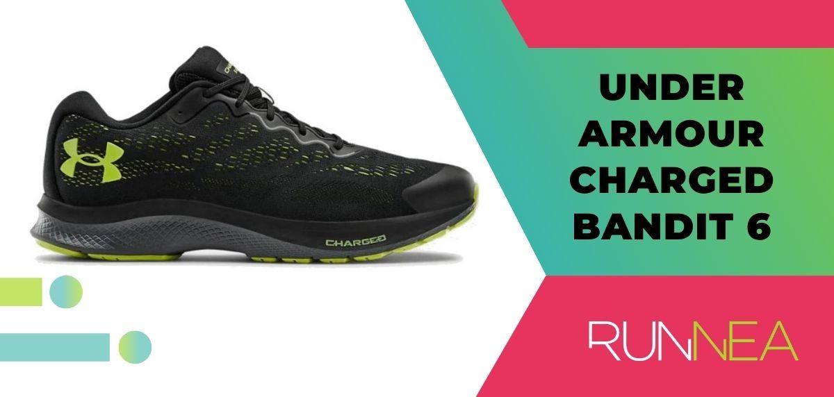Mejores zapatillas de running relación calidad-precio, Under Armour Charged Bandit 6