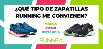 Las mejores zapatillas de running de cada marca según distancia y ritmo