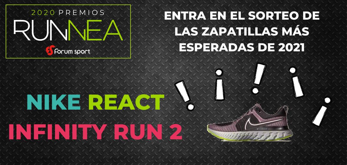 Premios RUNNEA, sorteo Nike Infinity Run 2