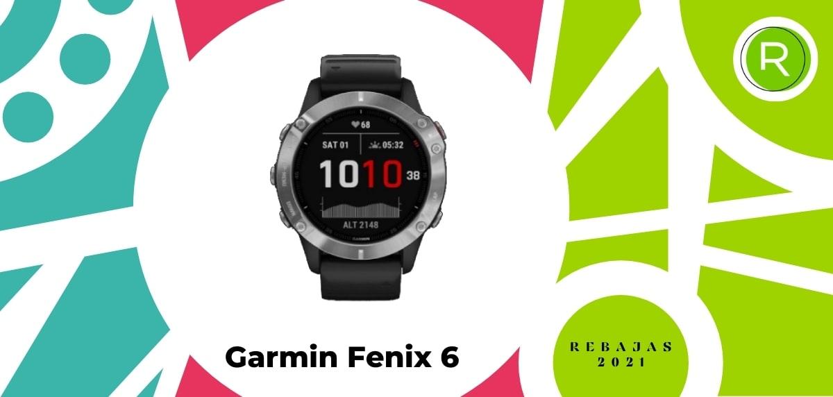 Smartwatch con GPS y pulsómetros, Garmin Fenix 6