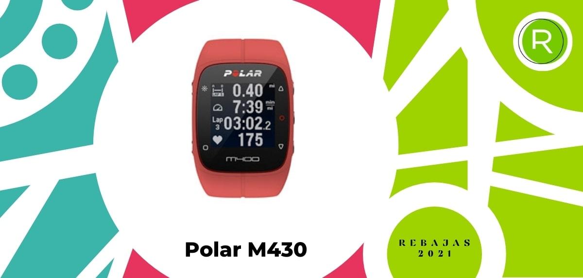 Smartwatch con GPS y pulsómetros, Polar M430