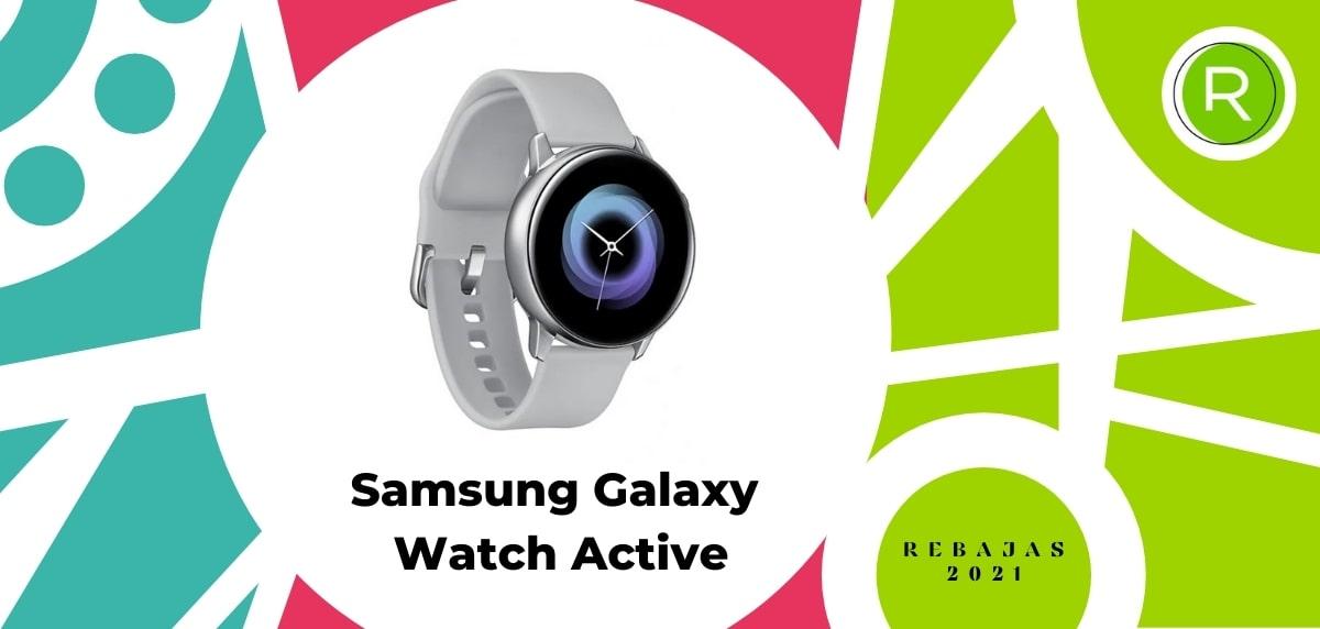 Smartwatch con GPS y pulsómetros, Samsung Galaxy Watch Active
