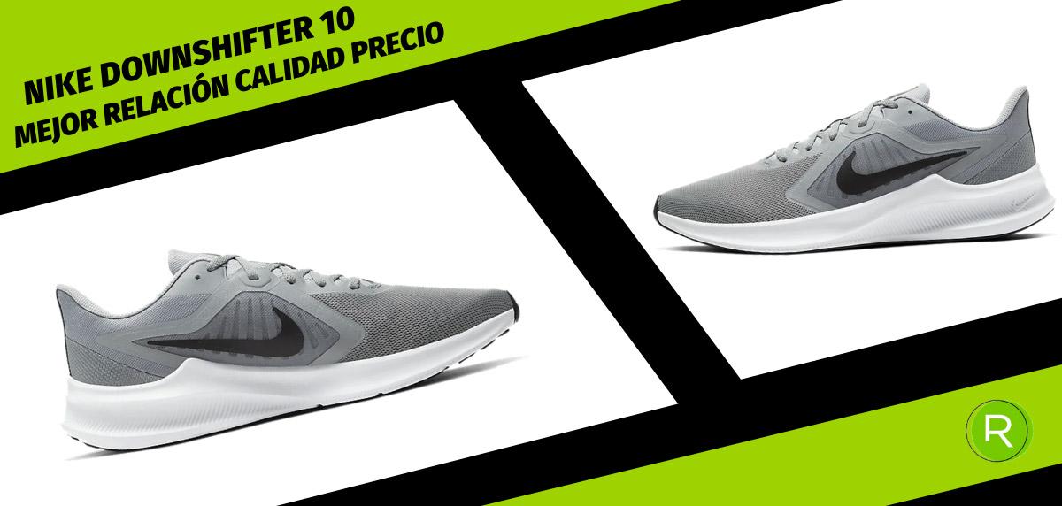 8 zapatillas Nike para hombre con mejor relación calidad-precio - Nike Downshifter 10
