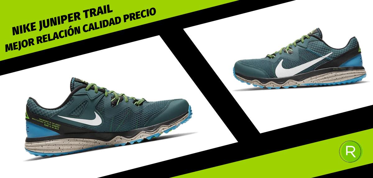 8 zapatillas Nike para hombre con mejor relación calidad-precio - Nike Juniper Trail