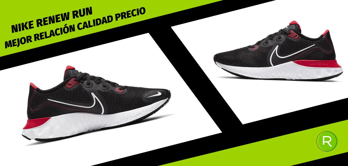 8 zapatillas Nike para hombre con mejor relación calidad-precio - Nike Renew Run