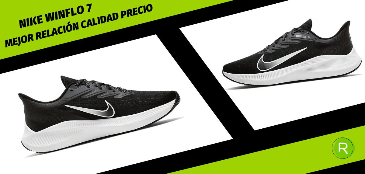 8 zapatillas Nike para hombre con mejor relación calidad-precio - Nike Air Zoom Winflo 7
