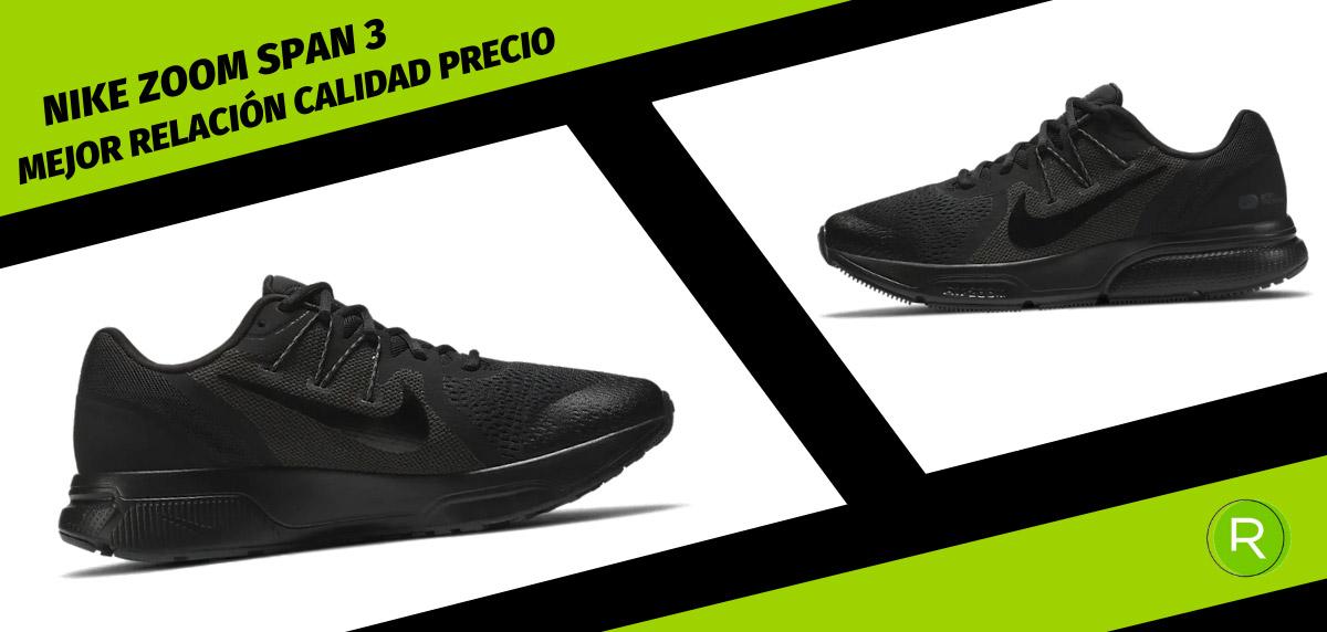 8 zapatillas Nike para hombre con mejor relación calidad-precio - Nike Zoom Span 3