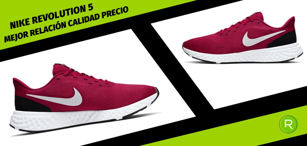 8 zapatillas Nike para hombre con mejor relación calidad-precio - Nike Revolution 5