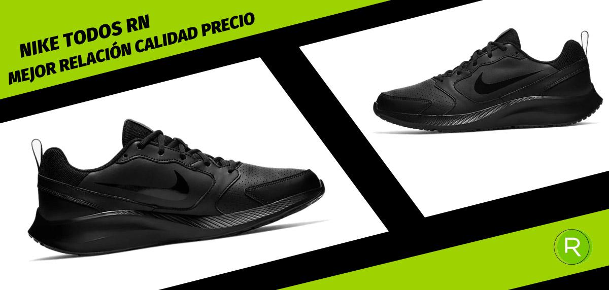 8 zapatillas Nike para hombre con mejor relación calidad-precio - Nike Todos RN