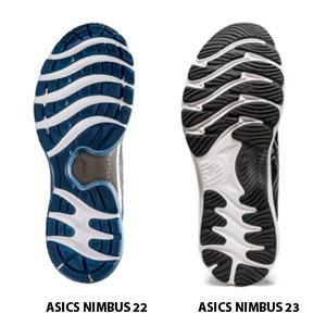 Comparativa de estabilidad entre las ASICS Nimbus 22 y las ASICS Nimbu 23