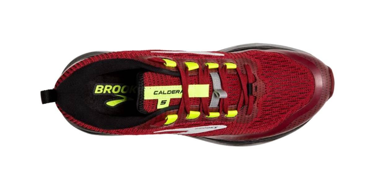 Brooks Caldera 5 superiore
