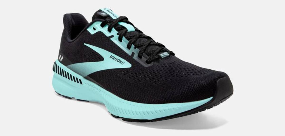Brooks Launch 8 GTS, upper