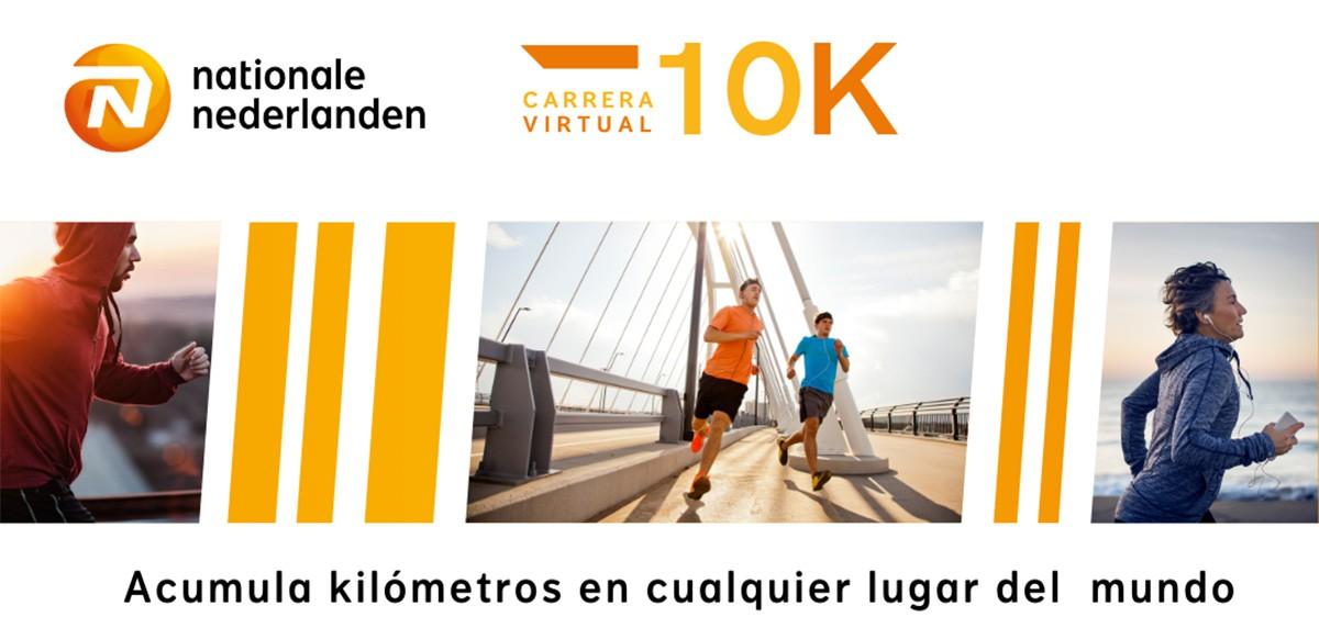 Apps en iOS y Android para apuntarse a la  carrera virtual Sigo corriendo en 2021 con Nationale-Nederlanden - foto 4
