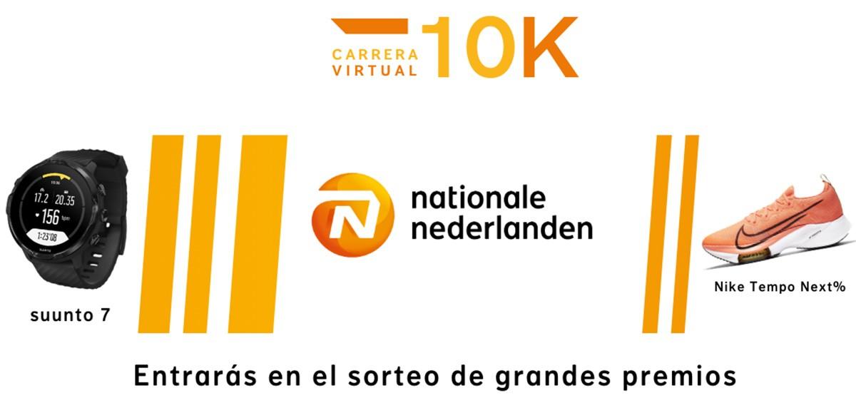 Premios y sorteos activos del reto Sigo corriendo en 2021 con Nationale-Nederlanden - foto 1