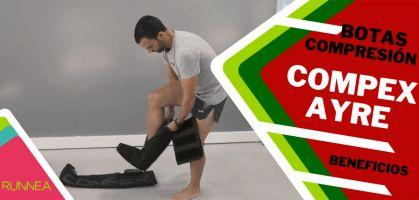Compex Ayre: botas de compresión para optimizar la recuperación de entrenamientos exigentes