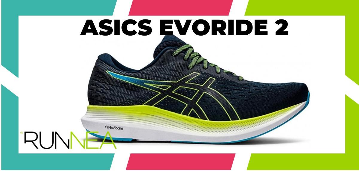 Mejores zapatillas running 2021 - ASICS EvoRide 2