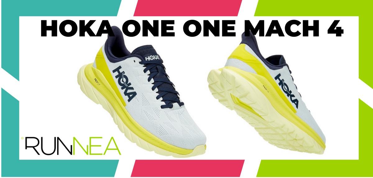 Mejores zapatillas running 2021 - HOKA ONE ONE Mach 4