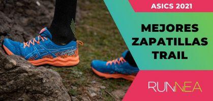 Mejores zapatillas de trail running de Asics 2021