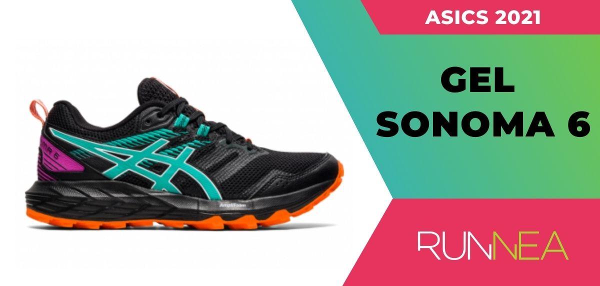 Le migliori scarpe da trail running da scarpe da trail running di Asics 2021, ASICS ASICS Gel Sonoma 6