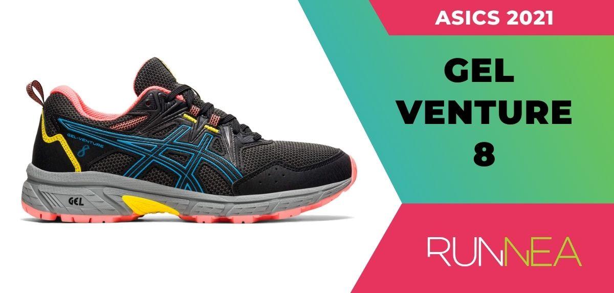 Le migliori scarpe da trail running da scarpe da trail running di Asics 2021, ASICS ASICS Gel Venture 8