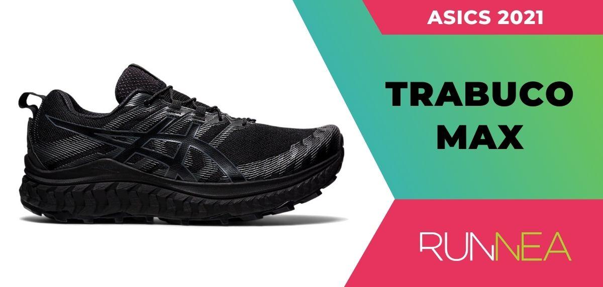 Le migliori scarpe da trail running da scarpe da trail running di Asics 2021, ASICS ASICS Trabuco Max