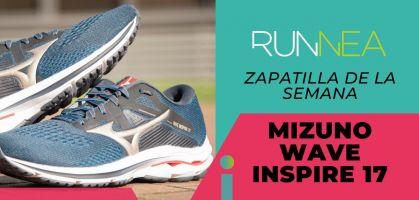 Zapatilla de la semana: Mizuno Wave Inspire 17