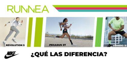 Nike Revolution 5, Nike Vomero 15 y Nike Pegasus 37: ¿Qué las diferencia?
