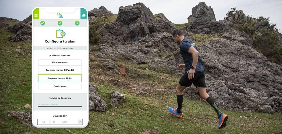Runnea Academy dispone de planes de entrenamiento de trail running, hombre