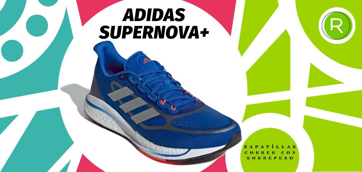 Mejores zapatillas para correr con sobrepeso - adidas Supernova+