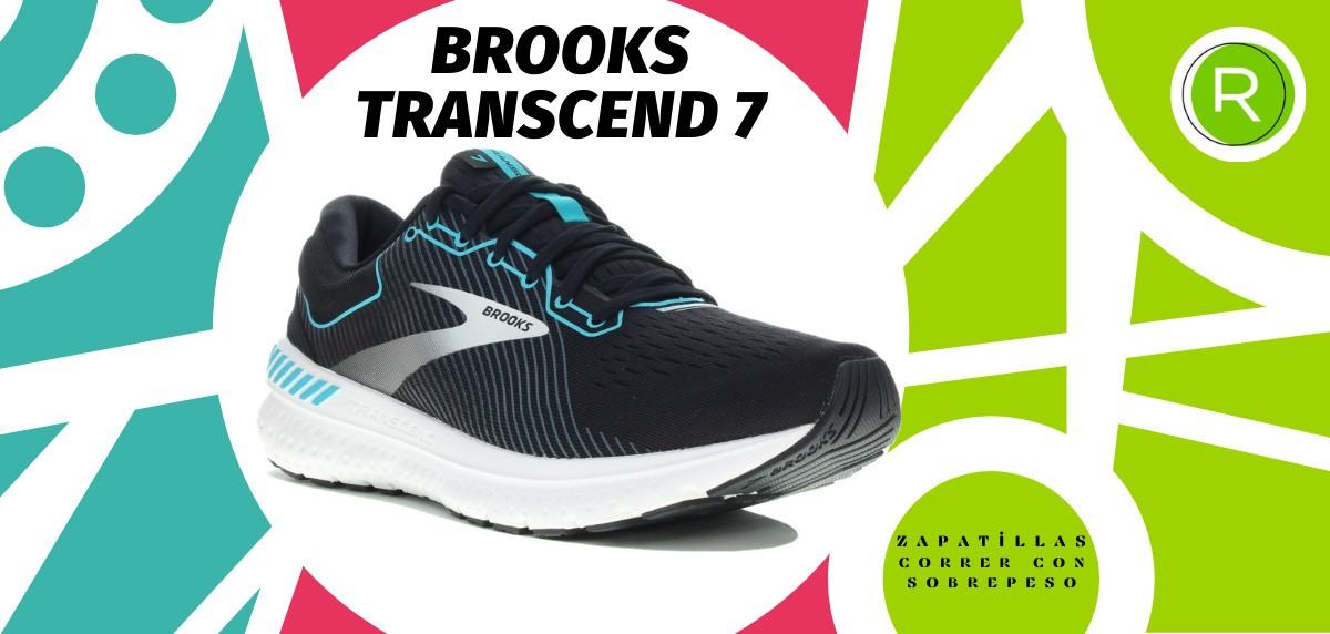 Mejores zapatillas para correr con sobrepeso - Brooks Transcend 7