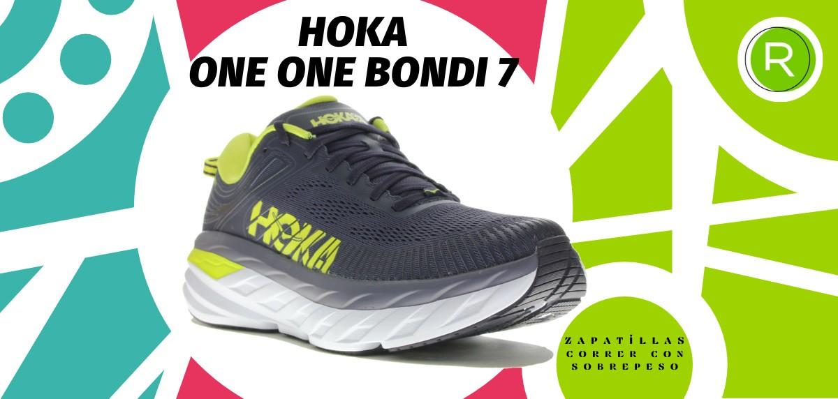 Mejores zapatillas para correr con sobrepeso - HOKA ONE ONE Bondi 7