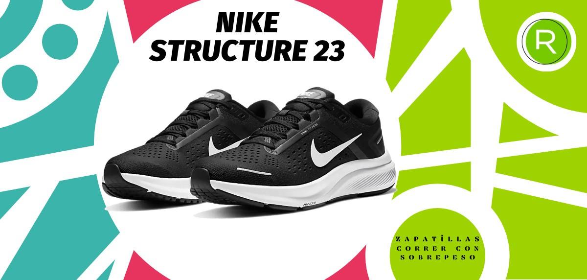 Mejores zapatillas para correr con sobrepeso - Nike Structure 23