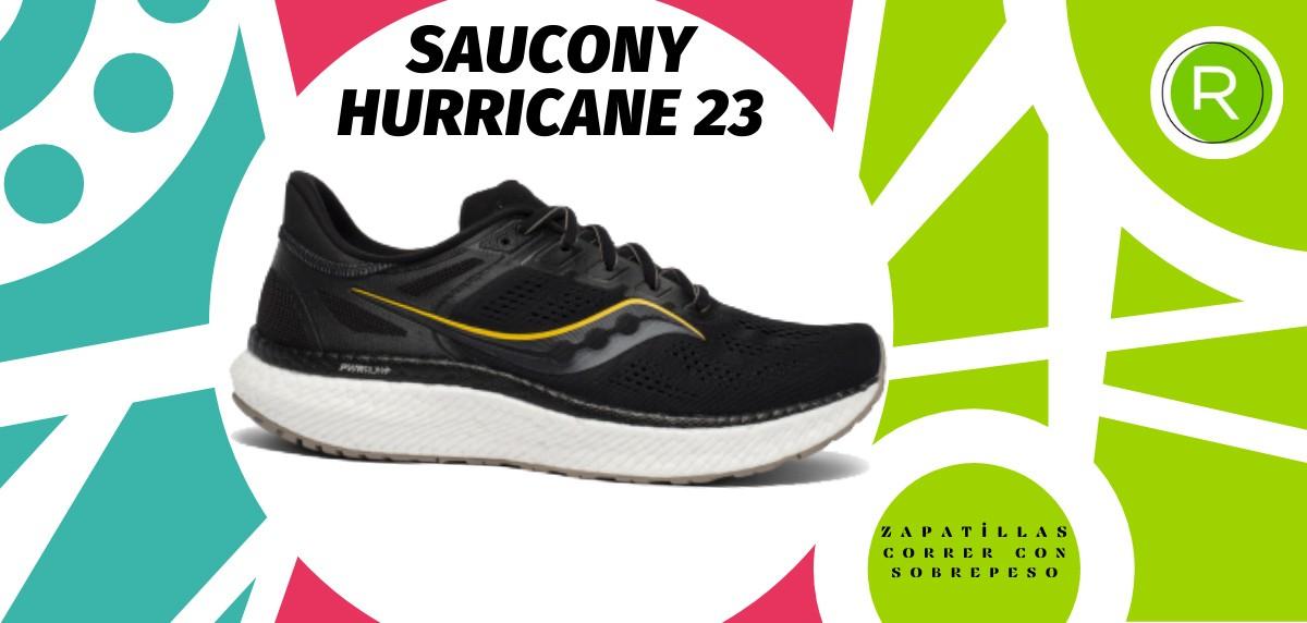 Mejores zapatillas para correr con sobrepeso - Saucony Hurricane 23