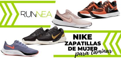 Las 8 mejores zapatillas Nike de mujer para caminar