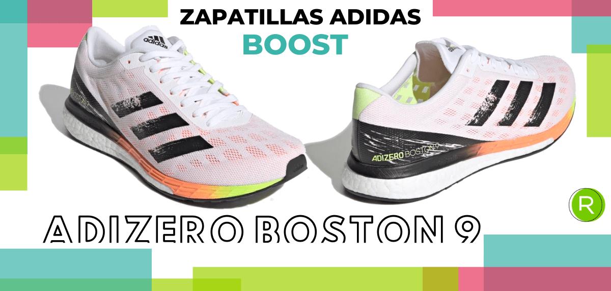 Mejores zapatillas adidas con espuma Boost - adidas Adizero Pro