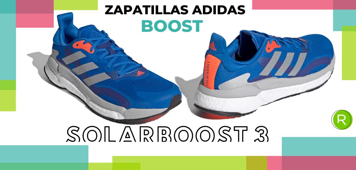 Mejores zapatillas adidas con espuma Boost - adidas Solarboost 3