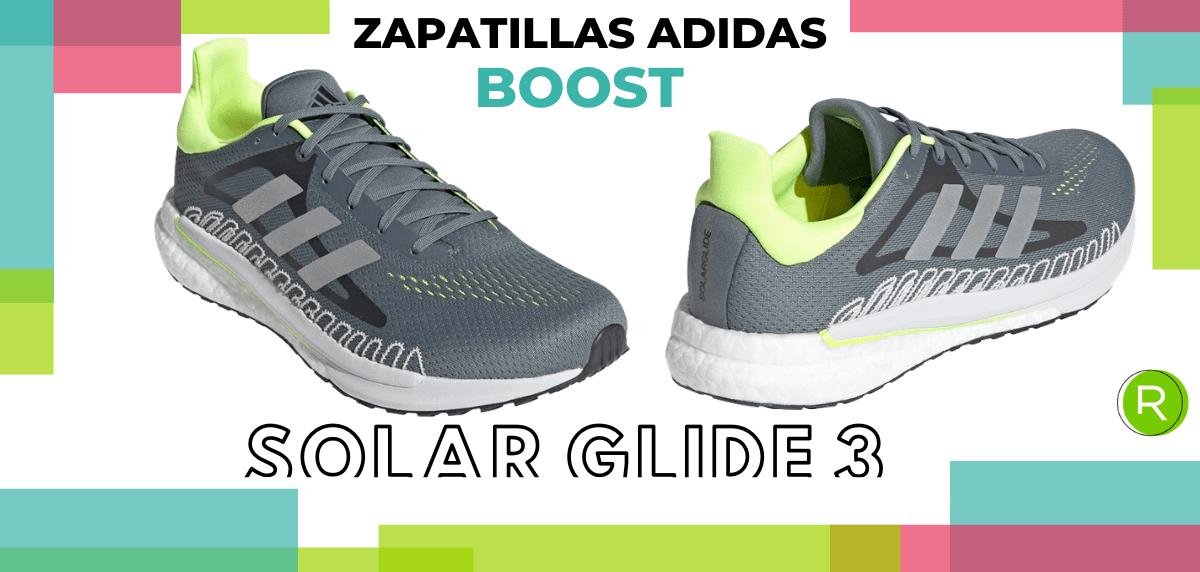 Mejores zapatillas adidas con espuma Boost - adidas Solar Glide 3