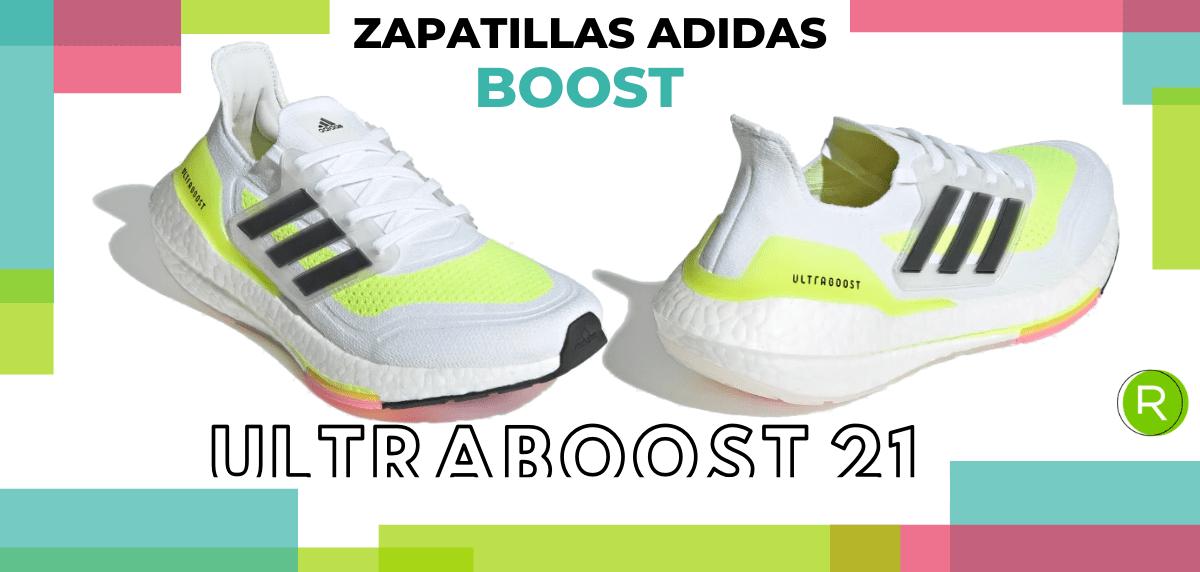 Mejores zapatillas adidas con espuma Boost - adidas Ultraboost 21