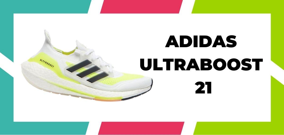 Zapatillas de running para corredores de pies anchos, Adidas Ultraboost 21