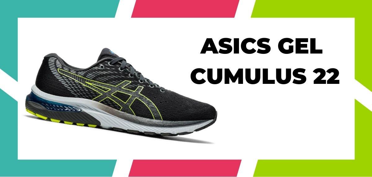 chaussures de running pour coureurs à pieds larges, ASICS Gel Cumulus 22