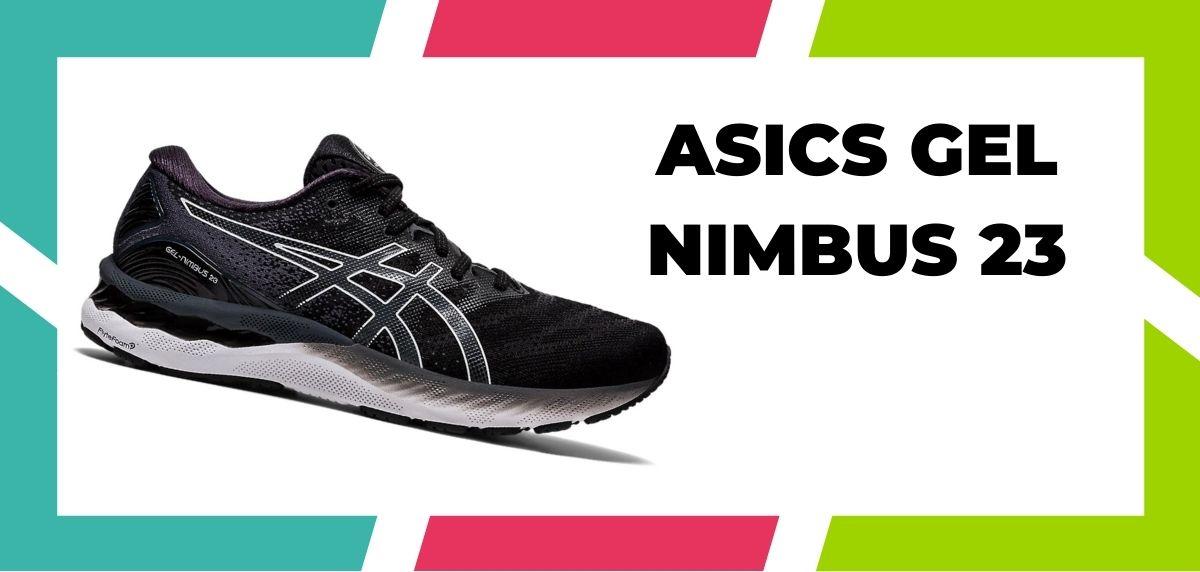 chaussures de running pour coureurs à pieds larges, ASICS Gel Nimbus 23