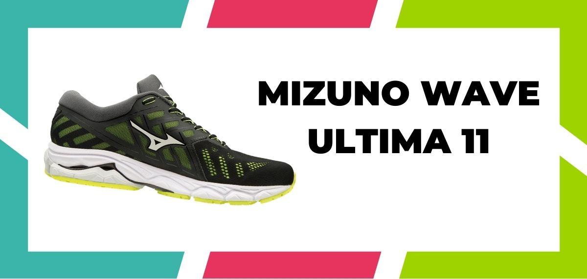 chaussures de running pour les coureurs aux pieds larges, Mizuno Wave Ultima 11