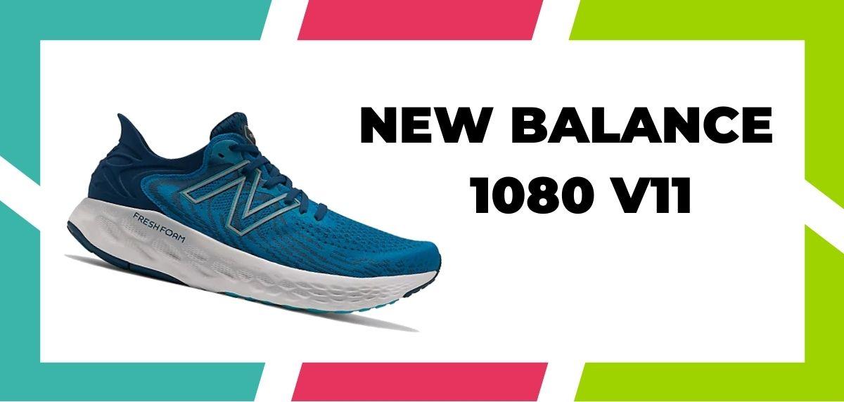 chaussures de running pour coureurs à pieds larges, New Balance Fresh Foam 1080 V11