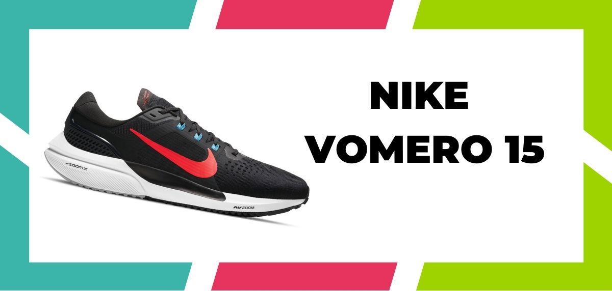 Zapatillas de running para corredores de pies anchos, Nike Vomero 15