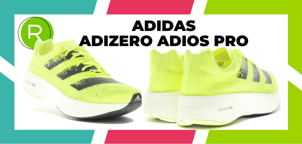 Les meilleures chaussures de running pour courir un marathon - adidas Adizero Adios Pro