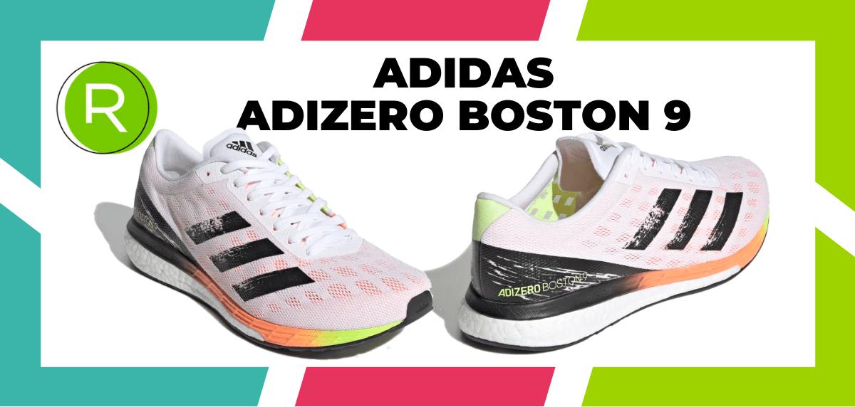 Les meilleures chaussures de running pour courir un marathon - adidas Adizero Boston 9