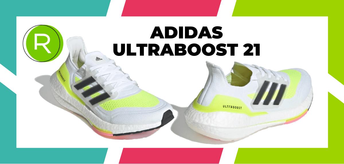 Mejores zapatillas running para correr un maratón - adidas Ultraboost 21