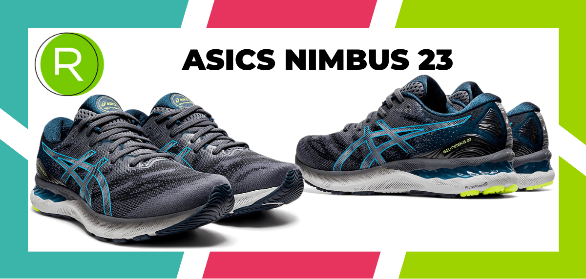 Mejores zapatillas running para correr un maratón - ASICS Nimbus 23