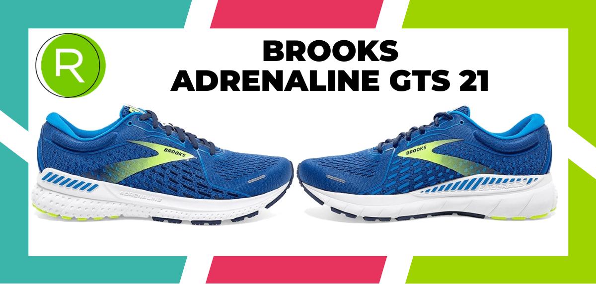 Mejores zapatillas running para correr un maratón - Brooks Adrenaline GTS 21