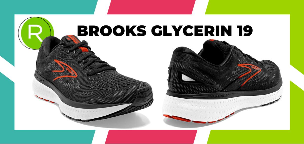 Meilleures chaussures de running pour le marathon - Brooks Glycerin 19